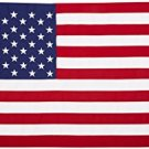 US Stars and Stripes American Flag Printed Polyester 3ft x 5ft with Grommets