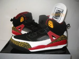 Air Jordan Spike - Black/Yellow/White/Red