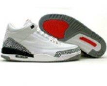 Air Jordan 3 Retro White/Cement Gray/Fire Red