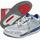 Air Jordan 3 Retro Laser Blue/Red