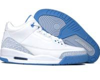 Air Jordan 3 Retro White/Harbor Blue/Boarder Blue