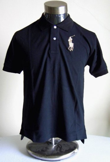 Polo - Black w/Tan