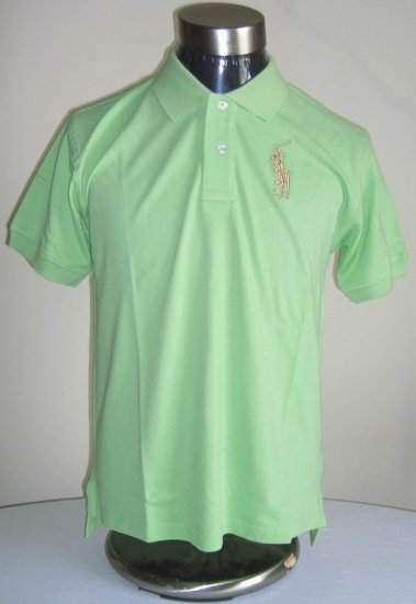 Polo - Green w/Tan
