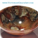 Agate Gemstone Bowls crystal healing Earth Energy cleansing Reiki Meditation Stone altar Offering