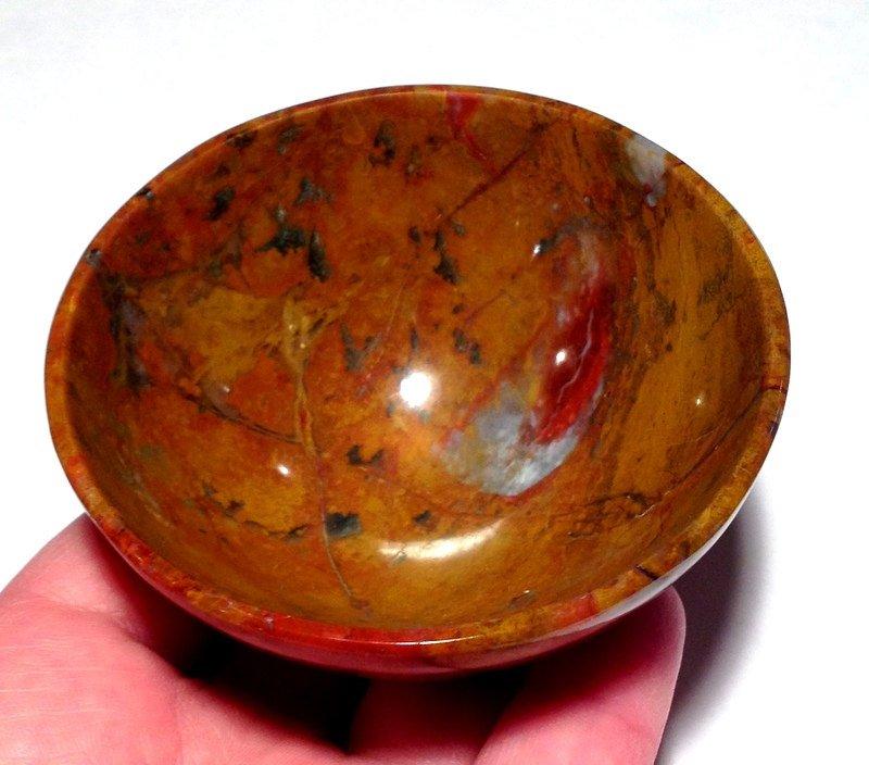 Rainbow jasper Bowl Gemstone Crystal Angel healing Stone Archangel Meditation Crystals Reiki Bowls