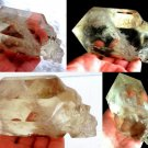 "Metaphysical crystals 5"" Citrine Crystal Skull Generator Point Wand Manifestation crystal healing"