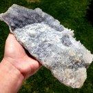 "Big 10.25"" Amethyst Ametrine citrine Points Quartz Druzy cluster Crystal healing Charging Plate Bowl"
