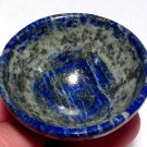 Gemstone bowls Lapis Lazuli Open your Third Eye Chakra Clairvoyance Crystal healing stone Altar bowl