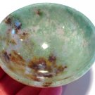 Crystal Soul healing Gemstone Bowls Moss Agate Manifestation Wiccan Altar Earth Energy Generator