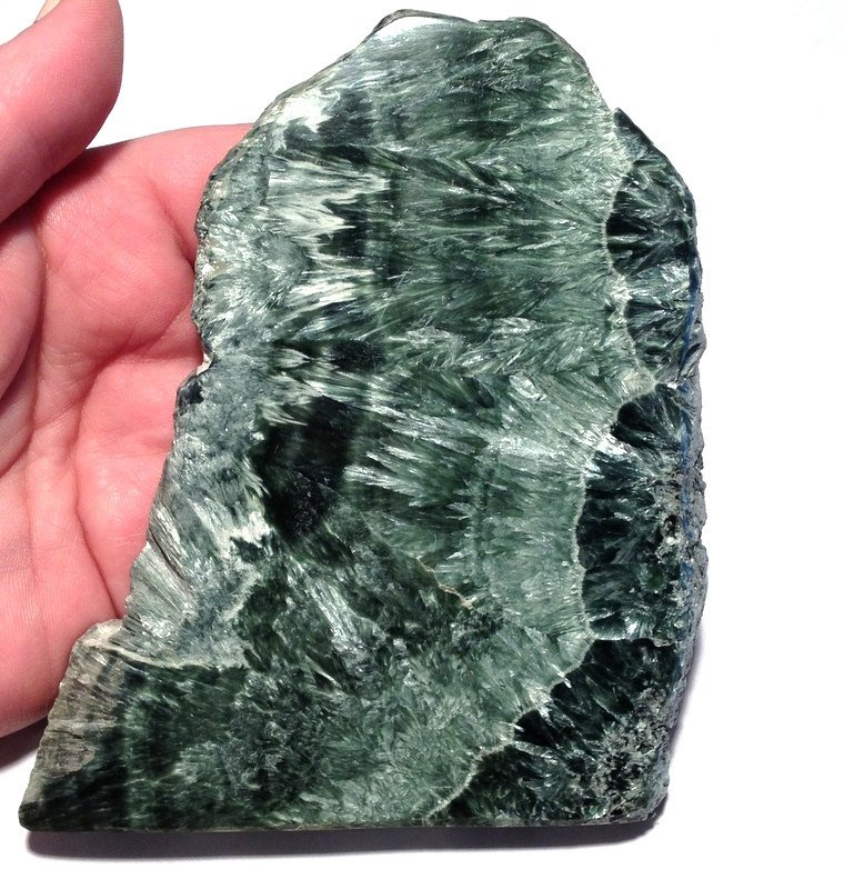 Angels Enlightenment Crystal healing Seraphinite Charging Plate Spiritual Angelic Meditation contact