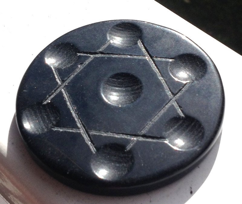 Healing Crystals Gemstone Grids Black Obsidian Stone Grid karma Cleansing space clearing Spirits