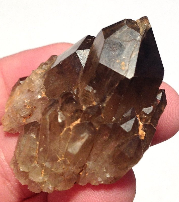 Congo Smoky Citrine Abundance Manifestation Lightbrary Quartz crystal healing