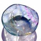 Small Blue Fluorite Gemstone Bowl Crystal Healing Metaphysical Stone Manifesting Reiki Altar Vessel