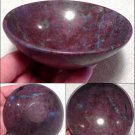 "4.25"" Gemstone Bowl Ruby Sapphire Kyanite Manifesting Stone Metaphysical Altar Crystal Healing"