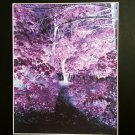 Enchanted Forest Spiritual Soul Healing Reiki Energy Metaphysical Fine Art Giclee Watercolor Print