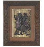 Shadow Box w/ Warrior & Wife