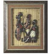 Shadow Box w/ Masai People