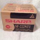 SHARP GENUINE BLACK TONER CARTRIDGE SF- 222NT1...new!