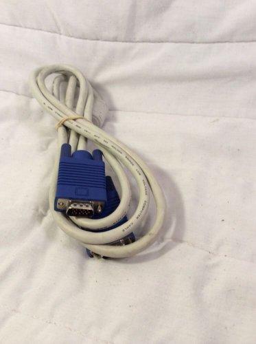 Golden Bridge VGA to VGA Computer Cable AWM E156437 2990 6ft