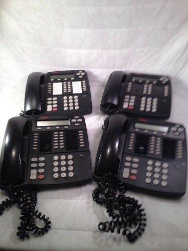 4 Avaya 4412D+ Display Business Phones -Black - free shipping/14 day warranty!