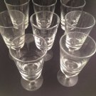 Set of 8 Pokal Glasses - Very Nice!