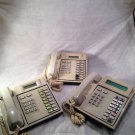 Lot (3) Tadiran EKT221 44098712 Ash Phones - free shipping & 14-day warranty