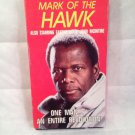 'MARK OF THE HAWK'  w: SIDNEY POITIER & EARTHA KITT, VHS. 1992