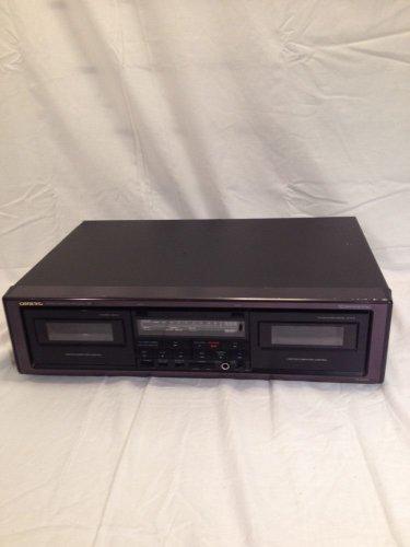 Onkyo TA-W202 Dual Cassette Dubbing Deck...clean & working!
