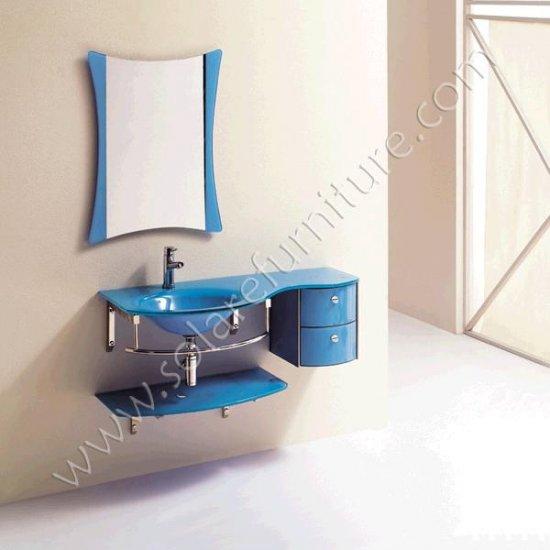 Lilac Bathroom Sink Set