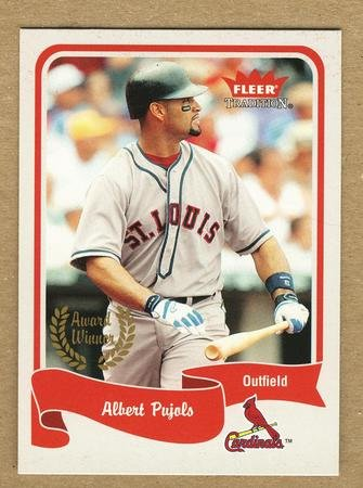 ALBERT PUJOLS 2004 Fleer Tradition SHORT PRINT Card #466 St Louis Cardinals FREE SHIPPING