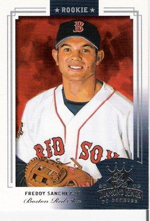 FREDDY SANCHEZ 2003 Diamond Kings Short Print ROOKIE Card #154 Boston Red Sox FREE SHIPPING