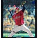 FREDDY GARCIA 2007 Topps Chrome REFRACTOR Card # 87 Philadelphia Phillies FREE SHIPPING