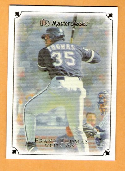 FRANK THOMAS 2007 UD Masterpieces Card #39 Chicago White Sox FREE SHIPPING 39