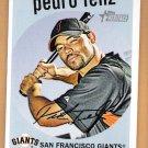 PEDRO FELIZ 2008 Topps Heritage SHORT PRINT Card #459 San Francisco Giants FREE SHIPPING