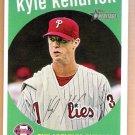 KYLE KENDRICK 2008 Topps Heritage SHORT PRINT Card #462 Philadelphia Phillies FREE SHIPPING