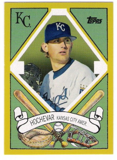 LUKE HOCHEVAR 2008 Topps Target T-205 400 Designs Insert Card #TCP4 Kansas City Royals FREE SHIPPING