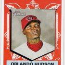 ORLANDO HUDSON 2008 Topps Heritage SHORT PRINT Card #483 Arizona Diamondbacks FREE SHIPPING