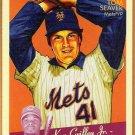 TOM SEAVER 2008 Upper Deck Goudey MINI Red Back INSERT Card #119 New York Mets FREE SHIPPING