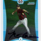 MATT GREEN 2008 Bowman Chrome Prospects AUTOGRAPH Rookie Card # BCP266 Arizona Diamondbacks