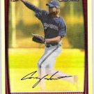 COREY HART 2008 Bowman Chrome REFRACTOR Insert Card #178 Milwaukee Brewers FREE SHIPPING