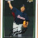 KAZUO FUKUMORI 2008 Bowman Chrome ROOKIE Card #214 Texas Rangers FREE SHIPPING