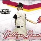 REGGIE JACKSON 2008 Donruss Threads College Greats INSERT Card #CG-2 New York Yankees FREE SHIPPING