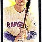 HANK BLALOCK 2007 Topps Allen & Ginter Mini BLACK BORDER Insert Card #11 Texas Rangers FREE SHIPPING