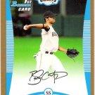 BRANDON CRAWFORD 2008 Bowman Draft Picks GOLD Draft Pick ROOKIE Card #BDPP41 SAN FRANCISCO GIANTS