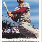 STAN MUSIAL 2003 Topps Gallery HOF Baseball Card #52 St Louis Cardinals FREE SHIPPING