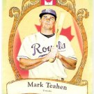 MARK TEAHEN 2009 Topps Allen & Ginter National Pride INSERT Card #NP61 Kansas City Royals