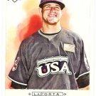 MATT LAPORTA 2009 Topps Allen & Ginter SHORT PRINT ROOKIE Card #328 Cleveland Indians FREE SHIPPING