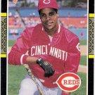 BARRY LARKIN 1987 Donruss ROOKIE Baseball Card #492 Cincinnati Reds FREE SHIPPING 492