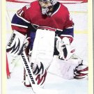 CAREY PRICE 2009 Upper Deck Goodwin Champions Card #38 Montreal Canadiens Hockey FREE SHIPPING