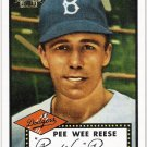 PEE WEE REESE 2001 Topps Archives Baseball Card #315 Brooklyn Dodgers FREE SHIPPING Los Angeles